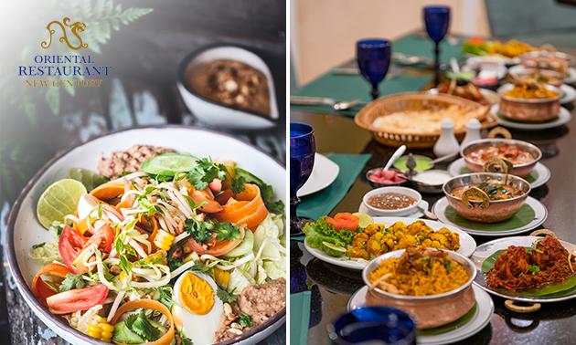 Afhalen: Indische rijsttafel bij Orëntal New Century
