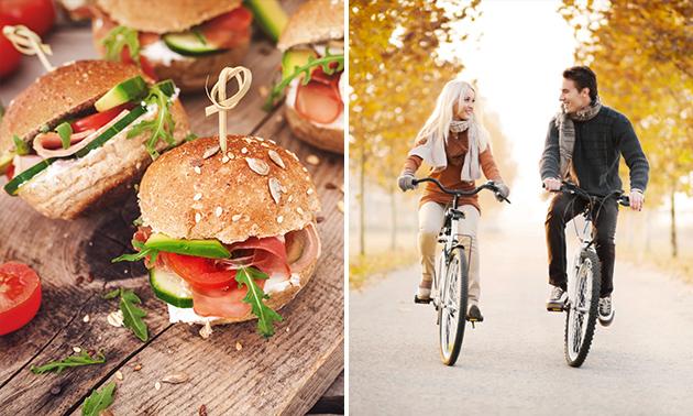 Wandel- of fietsarrangement + lekkernijen en lunch