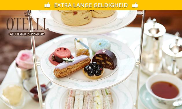 High tea bij Otelli in hartje Delft