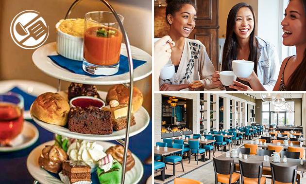 High tea bij Pannenkoekenhuis De Waterspiegel
