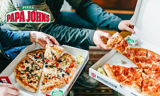 Take-away pizza(s) naar keuze bij Papa John's