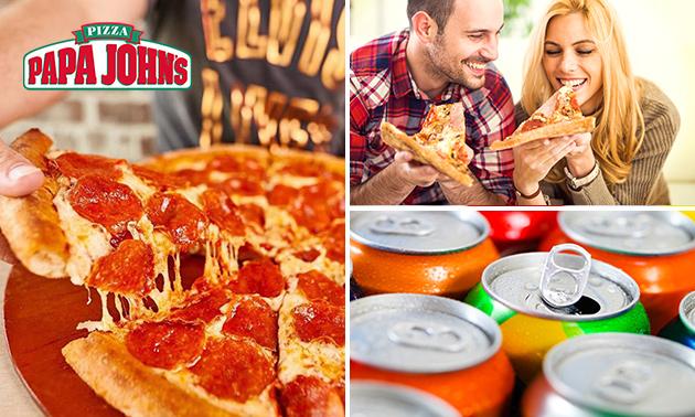 Pizza naar keuze bij Papa John's