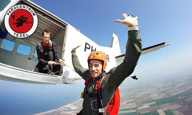 Cursus parachutespringen (2 dagen) op Texel