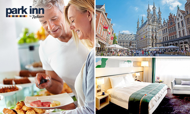 Overnachting(en) + ontbijt voor 2 in hartje Leuven