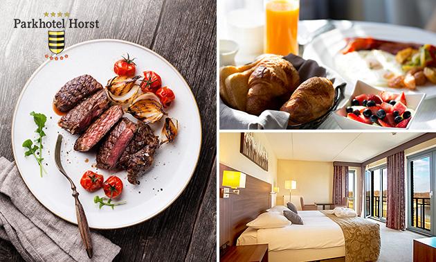 Overnachting(en) + ontbijt + evt. diner voor 2 in Limburg