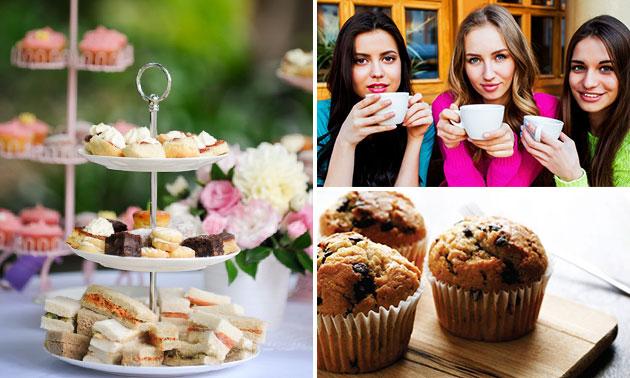 Afhalen: high tea bij Wapen van Degenkamp