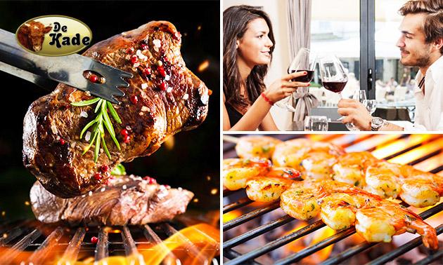 Tafelbarbecue + wijn, bier of fris