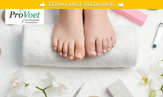 Pedicurebehandeling + evt. gellak