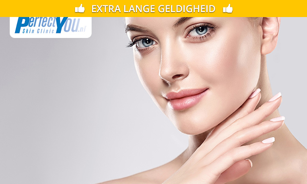 Huidverjonging door PlexR bij Perfect You Skin Clinics