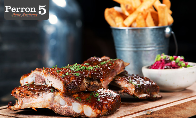 All-You-Can-Eat spareribs bij Perron 5