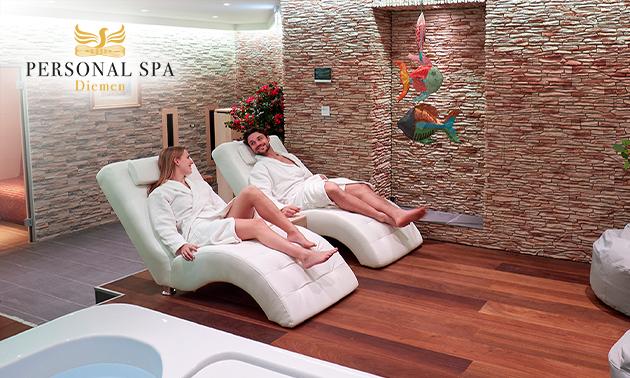 Personal sauna-arrangement (2,5 uur) voor 2