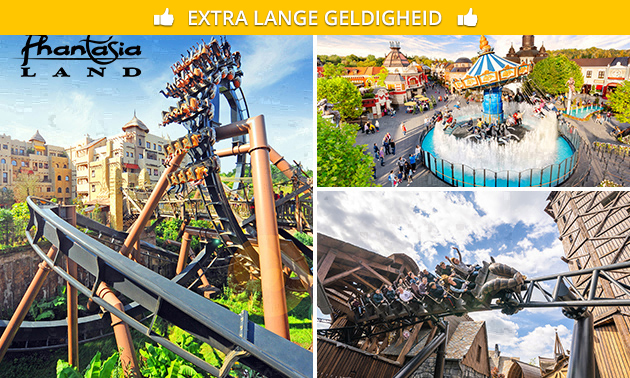 Entreeticket Phantasialand