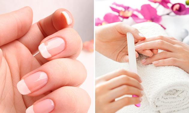 Mini-manicure + nagellak + flesje Dadi oil