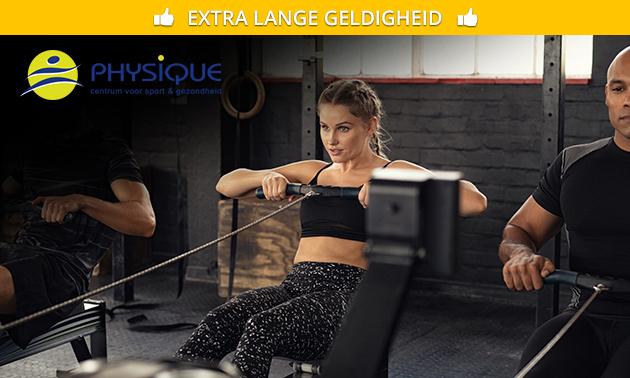 2 maanden onbeperkt fitnessen bij Physique