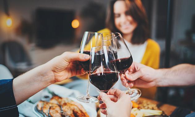 Online-Weinprobe für bis zu 6 Personen