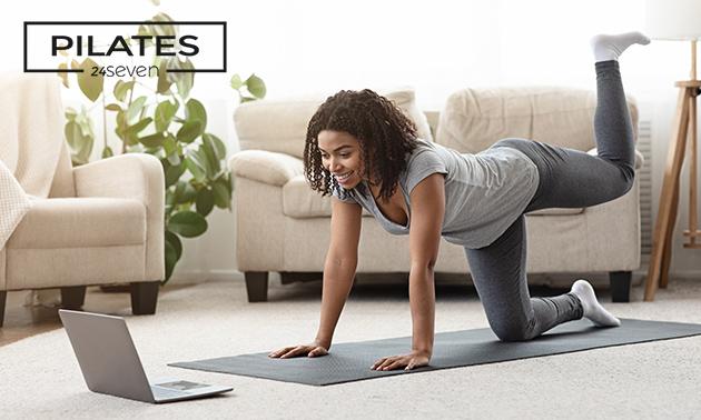 Online beginnerscursus pilates (onbeperkt toegang)