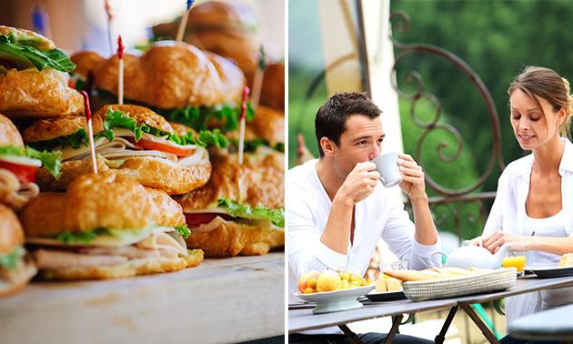 Luxe ontbijt voor 2 of 3 personen