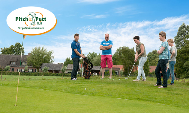 Golfspel (18 holes) bij Pitch & Putt Golf