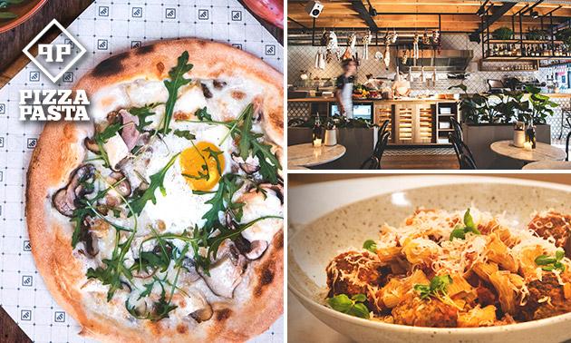 3-gangendiner (39 keuzes) bij Pizza Pasta