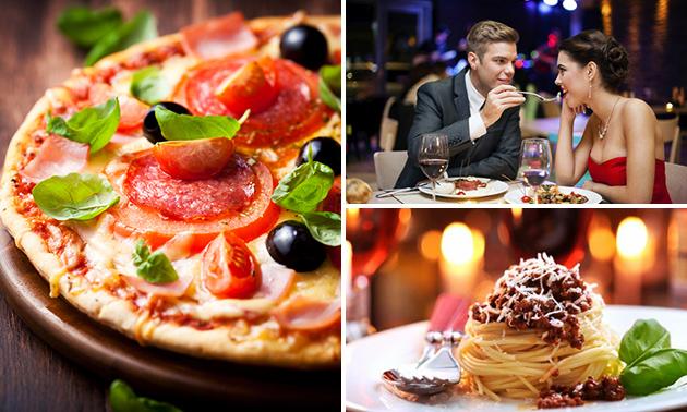 3-gangendiner (60+ keuzes) bij Pizza Pino