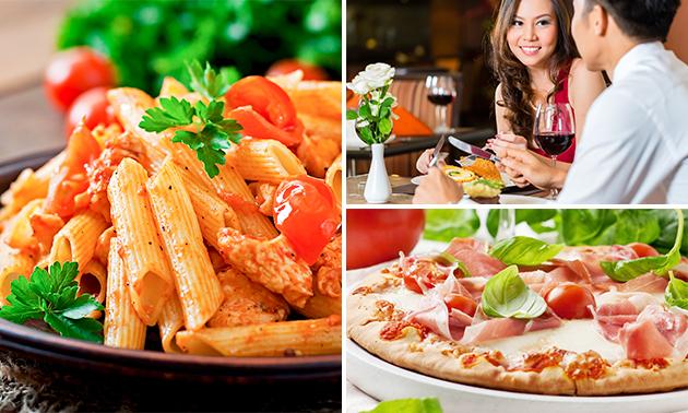 2-gangen keuzediner bij Pizzeria & Grillroom Stromboli