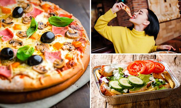 Afhalen: pizza of kapsalon + drankje bij Richï's
