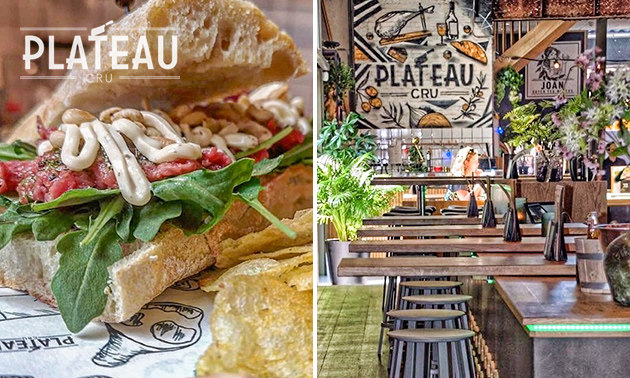 2-gangen keuzelunch in Foodhall Breda