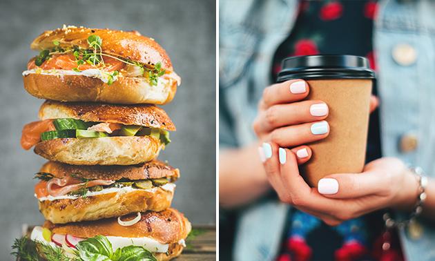 Afhalen: broodje + drankje naar keuze