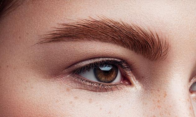Powder brows + nabehandeling