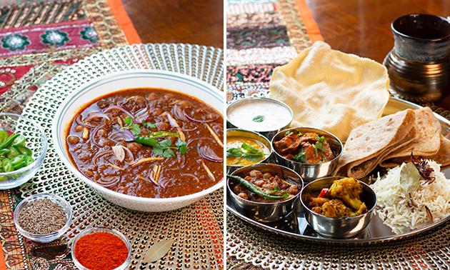 Afhalen: compleet Indiaas diner