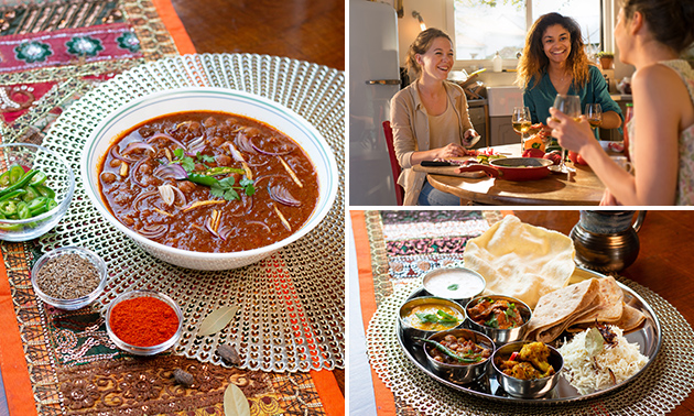 Afhalen: Indiaas shared dining-diner voor 2