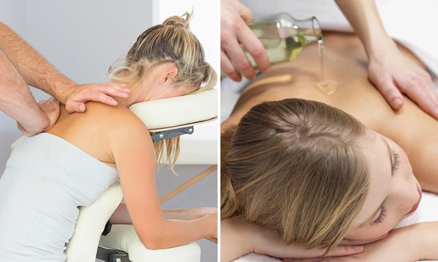 Massage naar keuze (40 of 60 min)