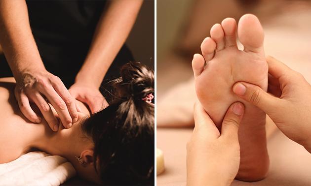 Massage naar keuze (45 min)