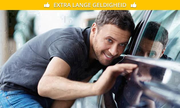 Deukje in jouw auto verwijderen