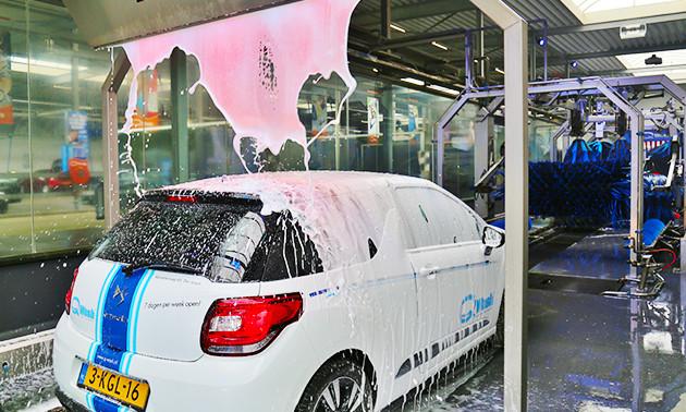 Autowasbeurt bij Q-Wash