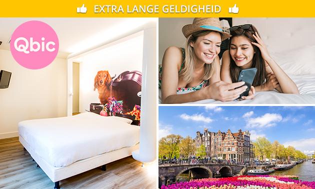Overnachting voor 2 op de Amsterdamse Zuidas
