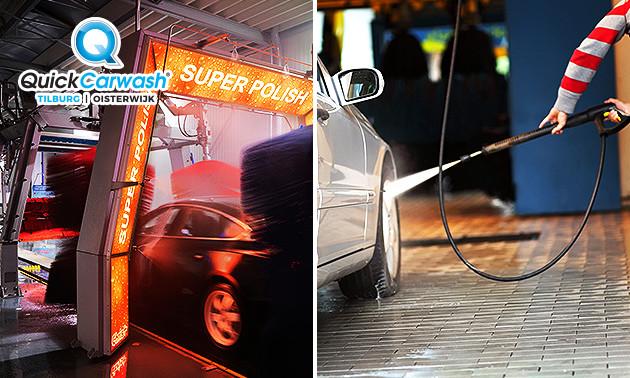 VIP-autowasbeurt bij Quick Carwash