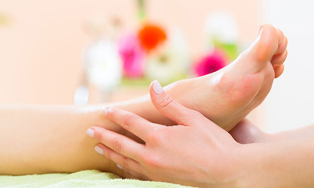 Wellnessbehandeling voor de voeten