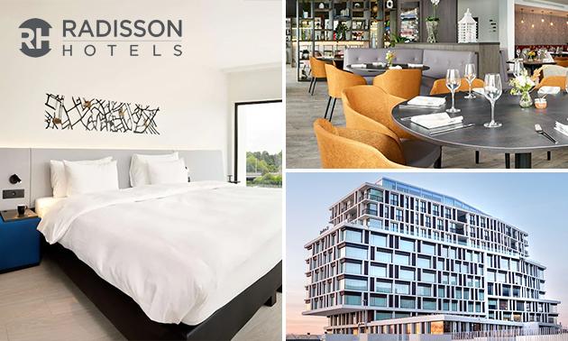 Overnachting voor 2 bij Radisson Blu Hotel Brugge