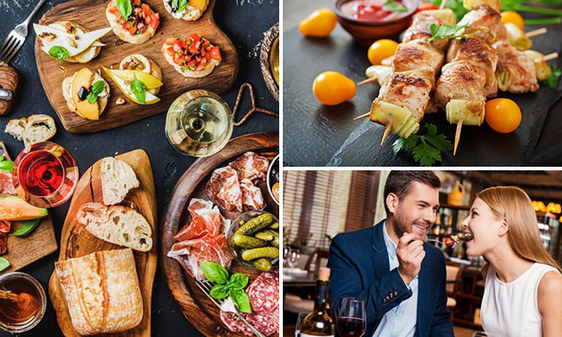 All-You-Can-Eat tapas + dame blanche in hartje Arnhem