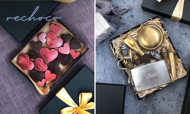 Thuisbezorgd of afhalen: luxe chocoladebox naar keuze