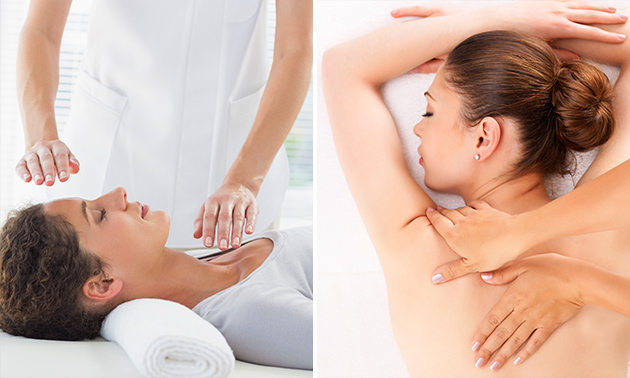 Reiki- en massagebehandeling