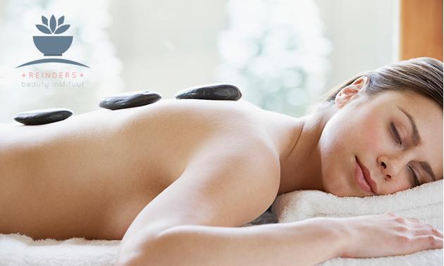 Hotstonemassage + gezichtsbehandeling (60 min)