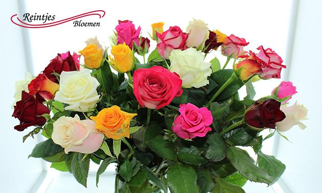Waardebon voor verse bloemen