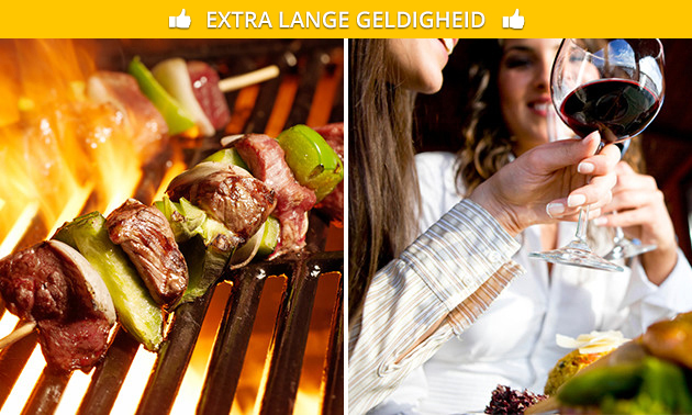All-You-Can-Eat barbecue (geen tijdslimiet) bij Amigos