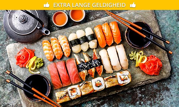 Afhalen: sushibox (16 of 36 stuks) bij Restaurant Azië