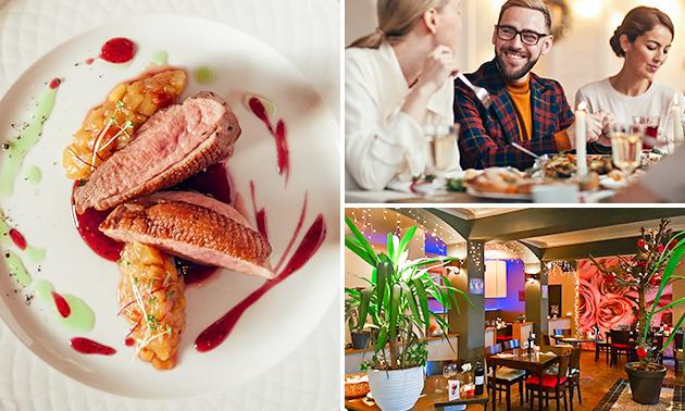 3-gangen keuzediner bij Restaurant Bij Roos