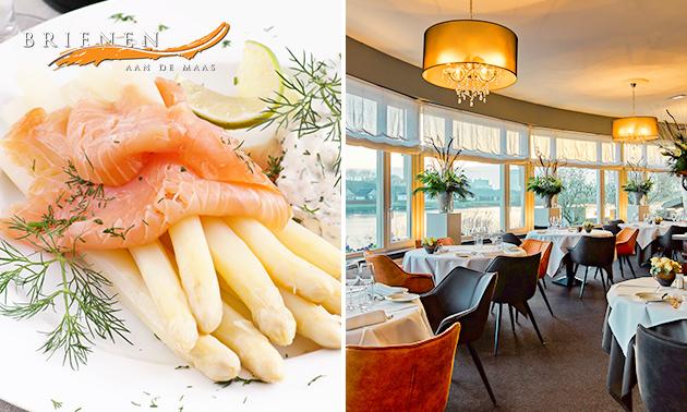 4- of 6-gangendiner bij sterrenrestaurant Brienen aan de Maas