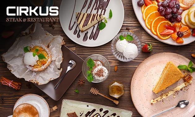 Afhalen: dessertbox voor 2 van Restaurant Cirkus