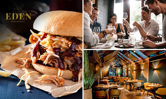 Afhalen: burger + milkshake van Michelin-restaurant Eden